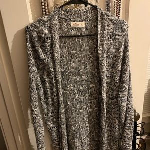 Hollister Sweater knit long cardigan
